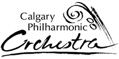 The Calgary Philharmonic Orchestra (CPO) logo