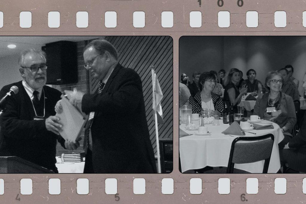 UOCPBA Calgary members photos on the old movie tape